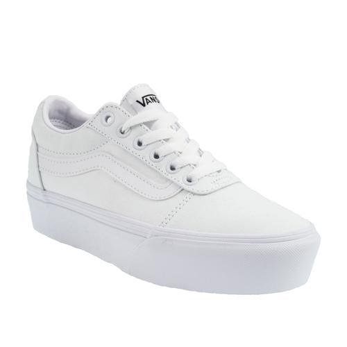 Vans Ward Platform Kadın Beyaz Spor Ayakkabı (VN0A3TLC0RG1)