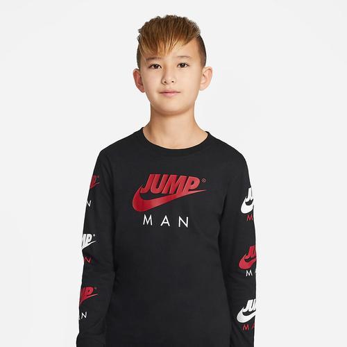 Nike Jump Man Çocuk Siyah Sweatshirt (95A350-023)