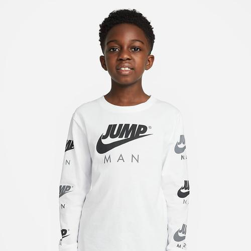 Nike Jump Man Çocuk Beyaz Sweatshirt (95A350-001)