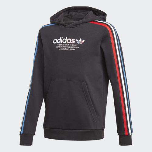 Adidas Adicolor Çocuk Siyah Sweatshirt (GN7496)