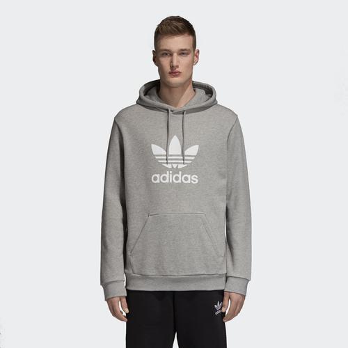 adidas Trefoil Erkek Gri Sweathirt (DT7963)