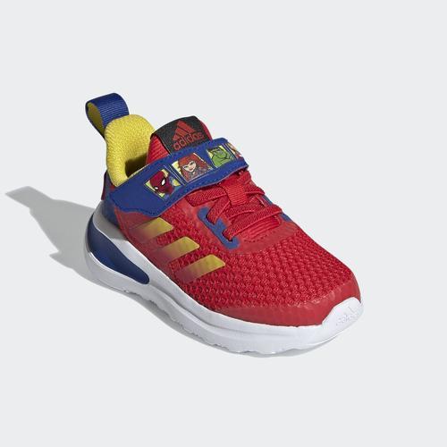 adidas FortaRun Super Hero Çocuk Kırmızı Spor Ayakkabı (FY1654)