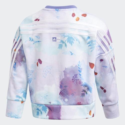 adidas Disney Frozen Crew Çocuk Mor Sweatshirt (GM6924)