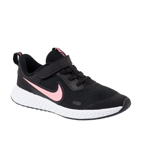 Nike Revolution 5 Çocuk Siyah Koşu Ayakkabısı (BQ5672-002)