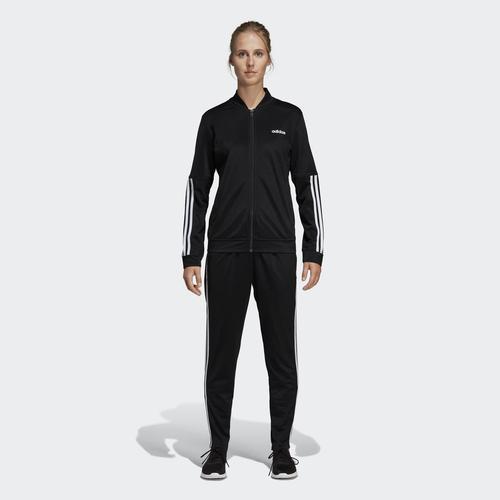 adidas Back 2 Basics 3S Kadın Siyah Eşofman Takımı (DV2428)