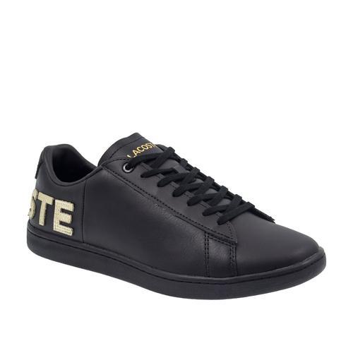 Lacoste Carnaby Evo 120 Kadın Siyah Spor Ayakkabı (739SFA0034.02H)