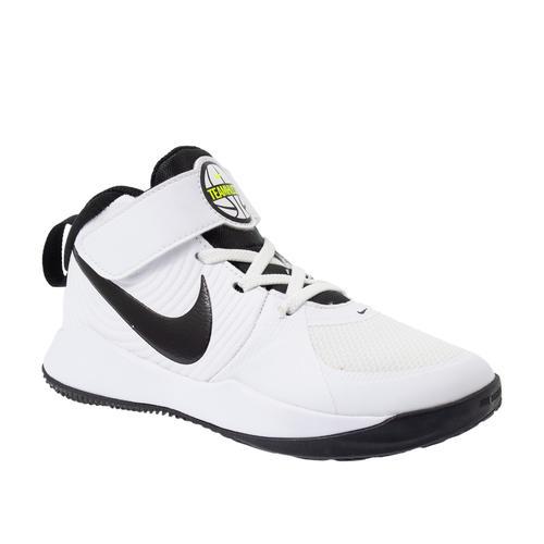 Nike Team Hustle 9 Çocuk Beyaz Basketbol Ayakkabısı (AQ4225-100)