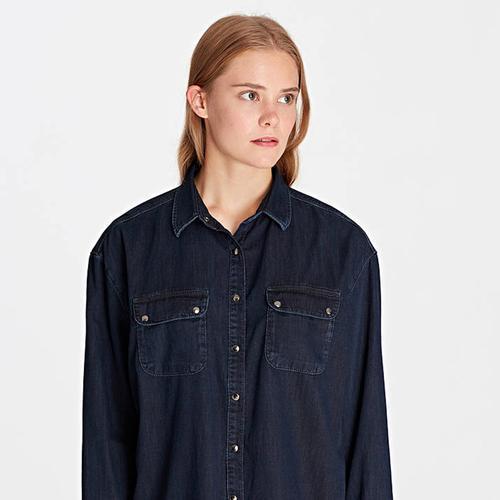 Mavi Melinda Kadın Lacivert Gömlek (122092-28095)