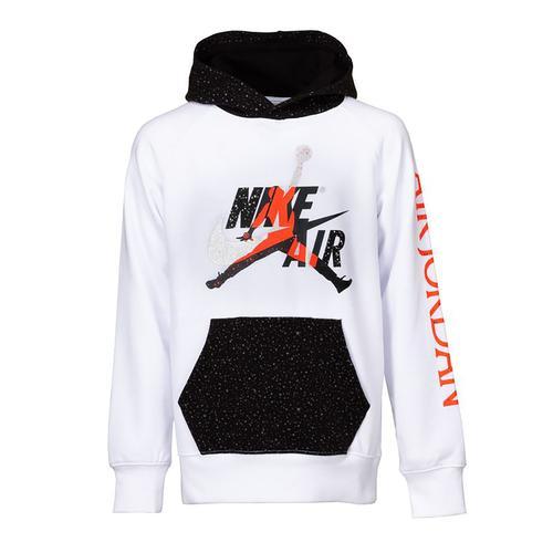 Nike Jumpman Classics Çocuk Beyaz Sweatshirt (956900-001)