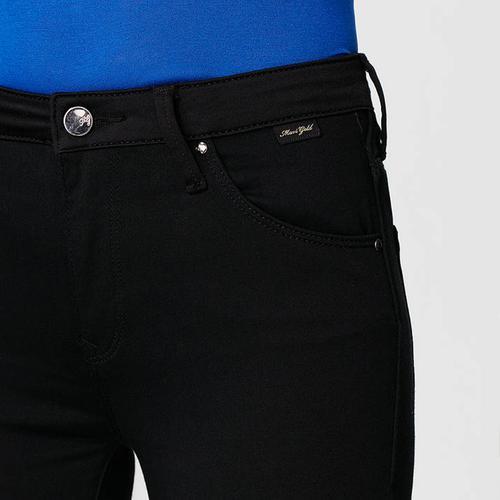 Mavi Tess Gold Kadın Siyah Pantolon (100328-26515)