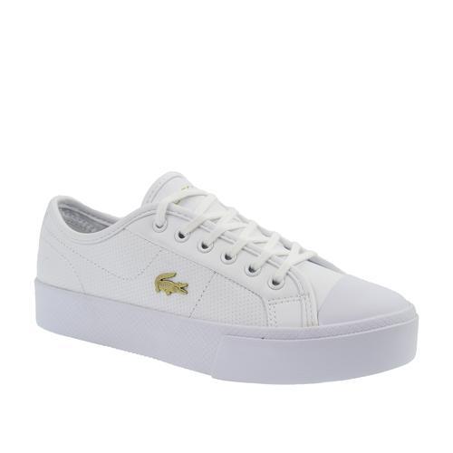 Lacoste Ziane Plus Grand 01201 Kadın Beyaz Spor Ayakkabı (740CFA0005.216)