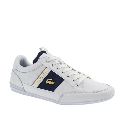 Lacoste Chaymon 0120 Cma Erkek Beyaz Spor Ayakkabı (740CMA0043.21G)