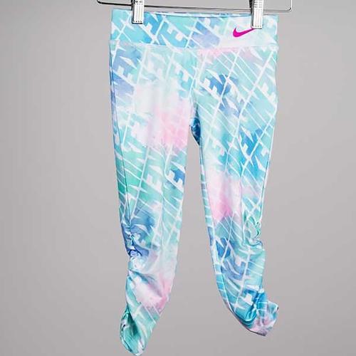 Nike Watercolor Legging Çocuk Mavi Tayt (36G010-E8G)