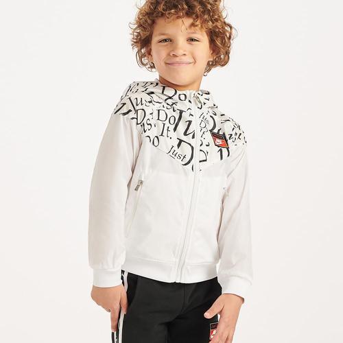 Nike Jdiy Wind Runner Çocuk Beyaz Ceket (86F999-001)