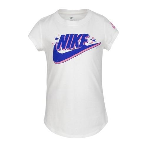 Nike Futura Marker Çocuk Beyaz Tişört (36G115-001)
