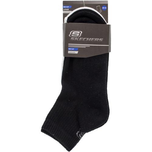 Skechers Padded Mid Cut 3 Renk Çorap (S192136-900)