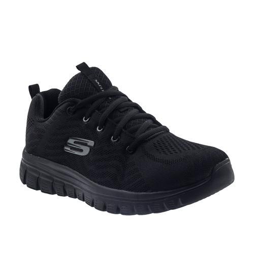 Skechers Graceful Get Connect Kadın Siyah Koşu Ayakkabısı (12615-BBK)
