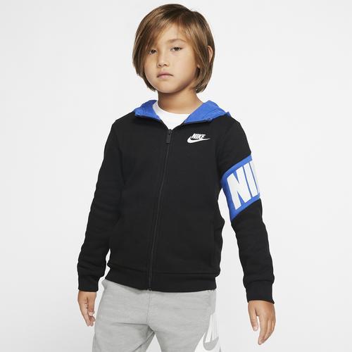 Nike Core Hbr Hoodie Çocuk Siyah Ceket (86F296-B3D)