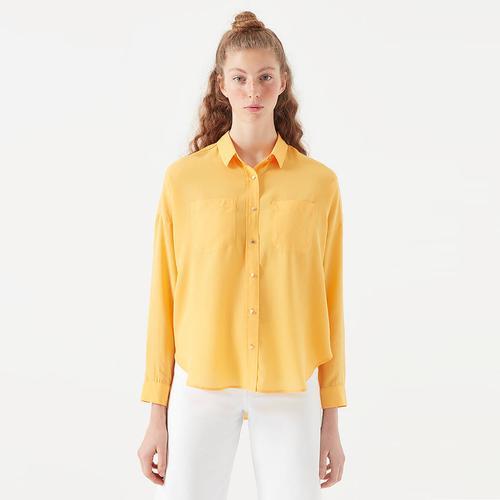 Mavi Kadın Sarı Gömlek (122486-31414)