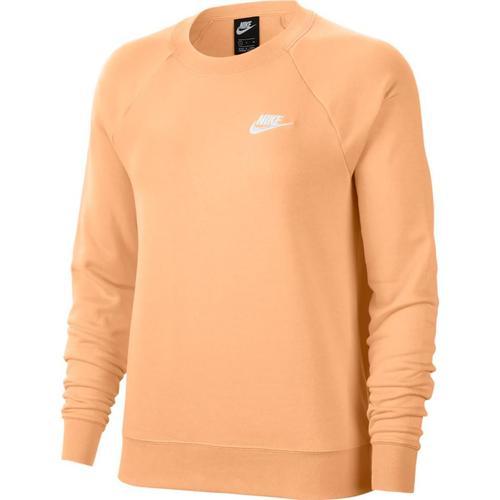 Nike Essential Logo Crew Kadın Turuncu Sweatshirt (BV4110-734)