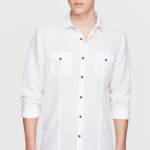 Mavi Erkek Beyaz Gömlek (021199-620)