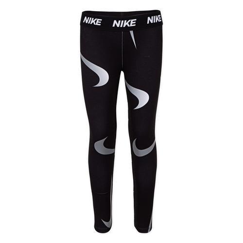 Nike Swooshfetti Legging Çocuk Siyah Tayt (36F329-023)