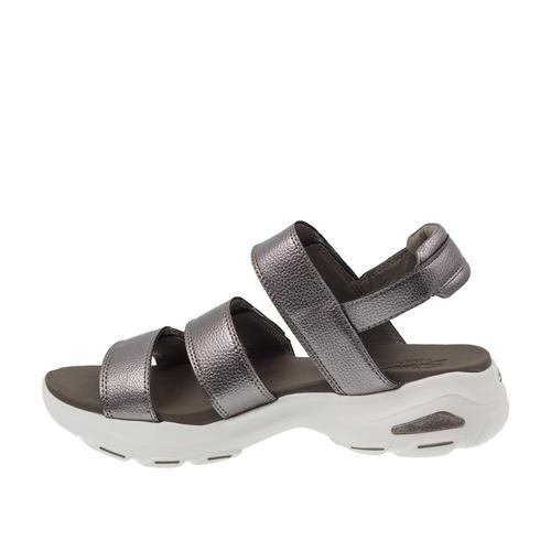 Skechers D'Lites Ultra Kadın Gri Sandalet (32382-PEW)