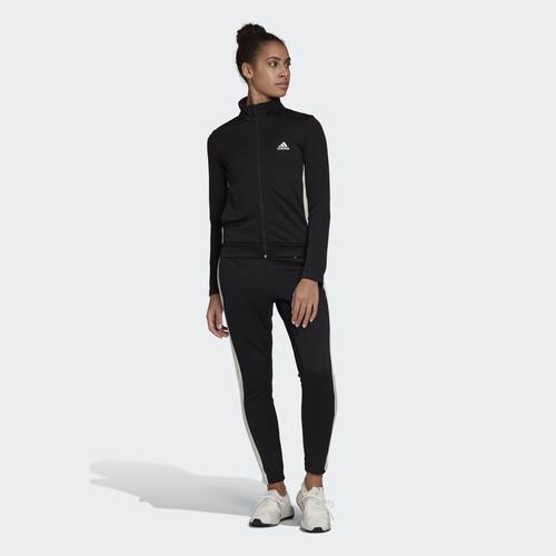 adidas Team Sports Kadın Siyah Eşofman Takımı (FI6696)