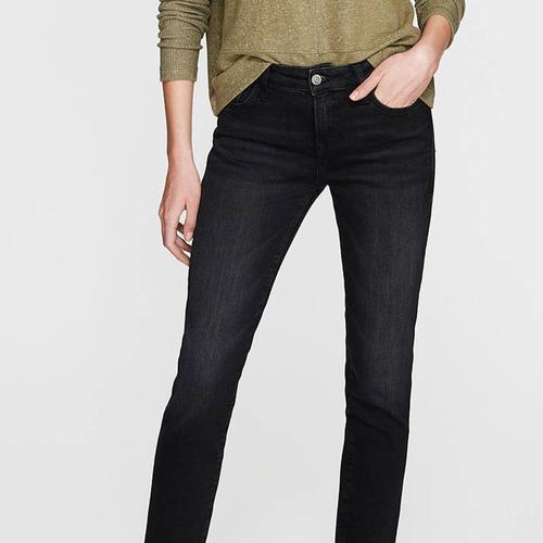 Mavi Ada Smoke Vintage Kadın Siyah Jean Pantolon (1020524752)