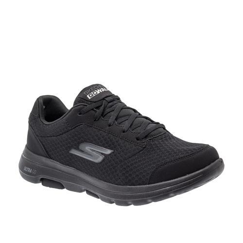 Skechers Go Walk 5 - Quaify Erkek Siyah Spor Ayakkabı (55509-BBK)