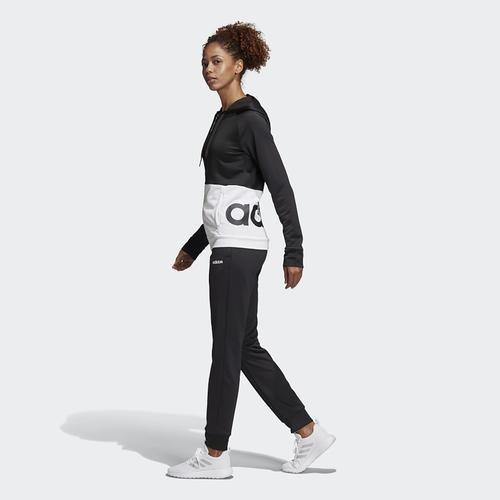 adidas Linear Kadın Siyah Eşofman Takımı (DV2425)
