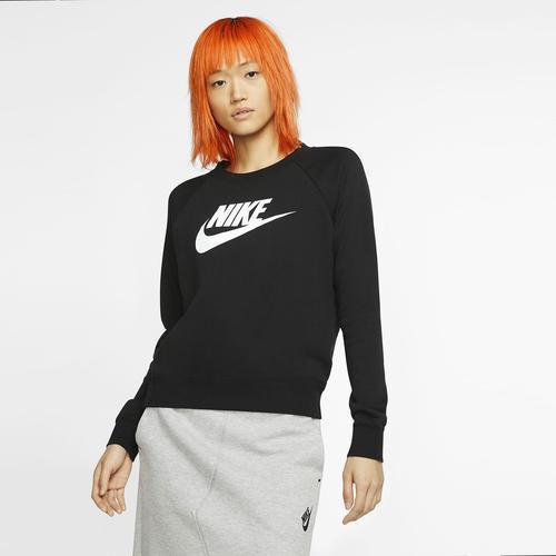 Nike Sportswear Essential Kadın Siyah Sweatshirt (BV4112-010)