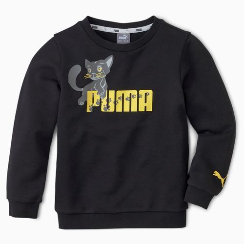 Puma Animals Çocuk Siyah Sweatshirt (583349-01)