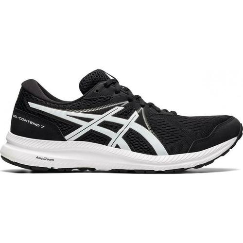 Asics Gel Contend 7 Erkek Siyah Koşu Ayakkabısı (1011B040-002)