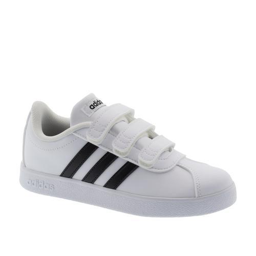 adidas VL Court 2.0 CMF Çocuk Beyaz Tenis Ayakkabısı (DB1837)