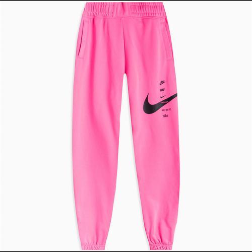 Nike Sportswear Swoosh Kadın Pembe Eşofman Altı (CU5631-607)