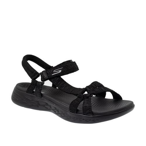 Skechers On-The-Go 600 Kadın Siyah Sandalet (16178-BBK)