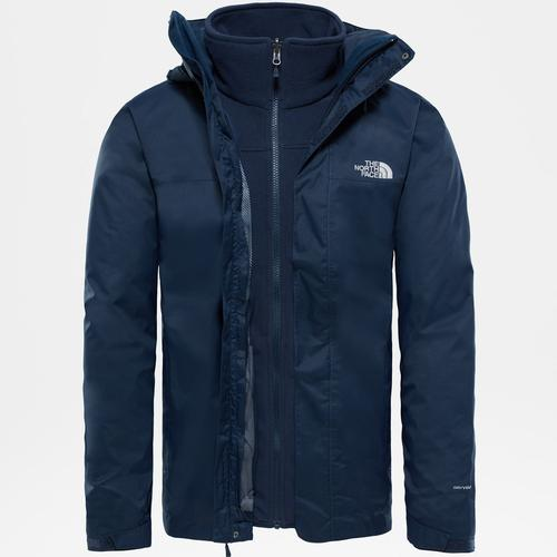 The North Face Evolve II Triclimate Erkek Lacivert Mont (NF00CG55H2G1)