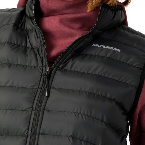 Skechers Outerwear Lightweight Kadın Siyah Yelek (S202109-001)