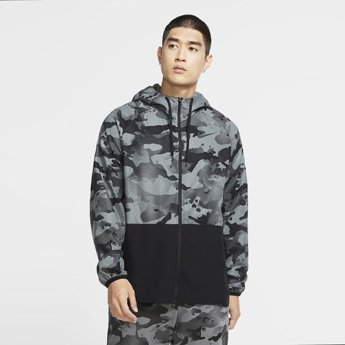 Nike Pro Flex Vent Tam Erkek Kamuflaj Ceket (CU4042-010)