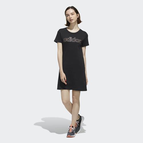 adidas Branded Kadın Siyah Elbise (FL0141)