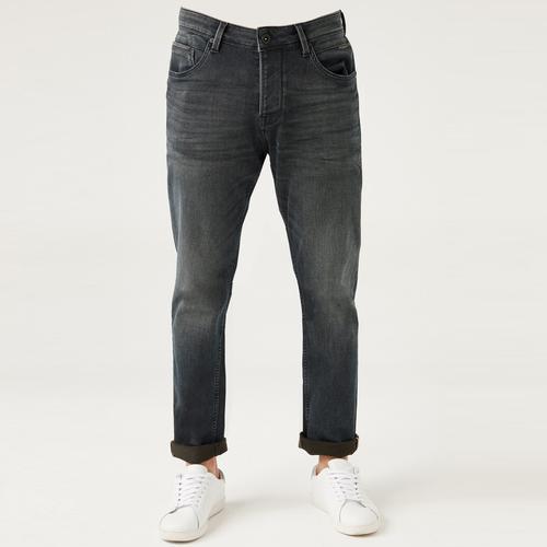 Five Pocket Erkek Gri Jean Pantolon (7297-H995)