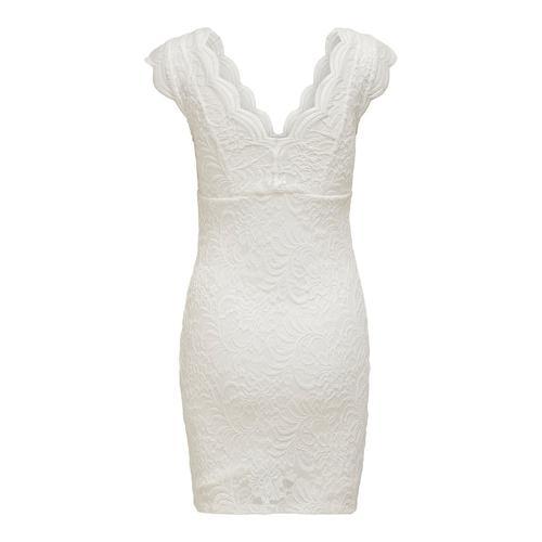 Only Alba Kadın Beyaz Elbise (15201968-CD)