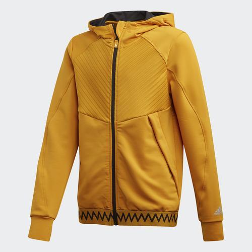 adidas COLD.RDY Full Çocuk Sarı Ceket (GE4784)