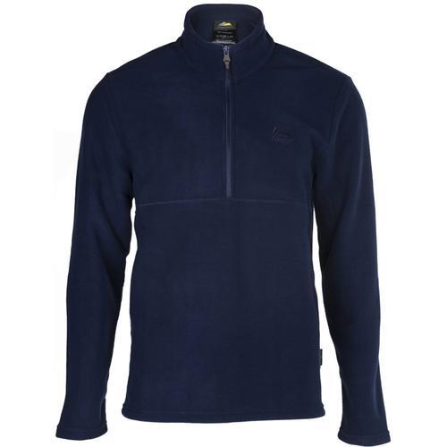 Alpinist Jimm Erkek Lacivert Polar Sweatshirt (AL600402-LAC)