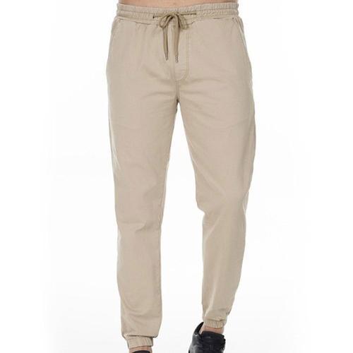 Five Pocket Jordan Erkek Krem Pantolon (7190-N772)