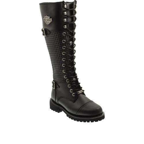 Harley Davidson Tiny Kadın Siyah Çizme (025Z100533-B1409)