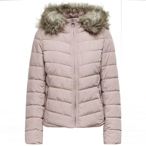 Only Newellan Quilted Kadın Pembe Mont (15158943-SG)