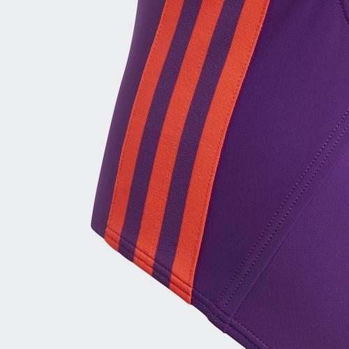 adidas Plavky Athly Stripes Çocuk Mor Mayo (FL8669)