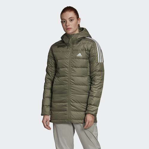 adidas Essentials Down Kadın Yeşil Mont (GH4591)